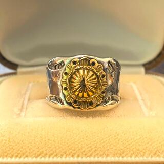 アリゾナフリーダム(ARIZONA FREEDOM)のアリゾナフリーダム ゴールドコンチョリング20号(リング(指輪))