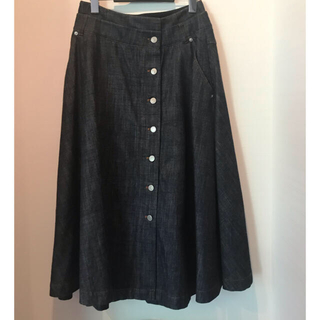 アドーア(ADORE)のADORE デニム スカート サイズ38(ロングスカート)