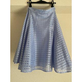 ストロベリーフィールズ(STRAWBERRY-FIELDS)のストロベリーフィールズ フレアスカート(ひざ丈スカート)