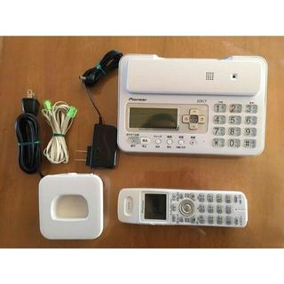パイオニア(Pioneer)のPioneer コードレス電話機 型番TF-FA70W-W(その他)