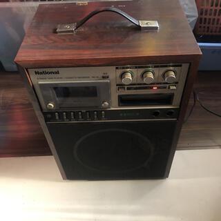 パナソニック(Panasonic)のナショナル カセット/8トラックテーププレーヤー  RQ-81(ラジオ)