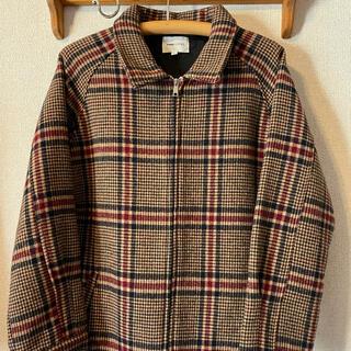HARE - EMMA CLOTHES チェックブルゾン ブラウン系 L