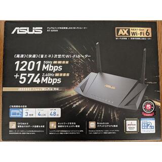 エイスース(ASUS)のASUS RT-AX56U 無線LANルーター  使用日数:1日  (PC周辺機器)