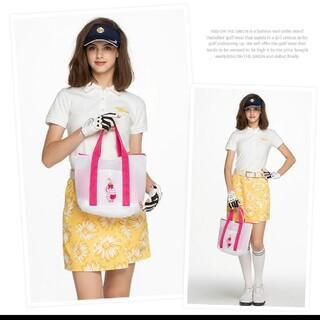 ゴルフ【新品未開封】キスオンザグリーン 刺繍入り洗濯ネット バッグ(その他)