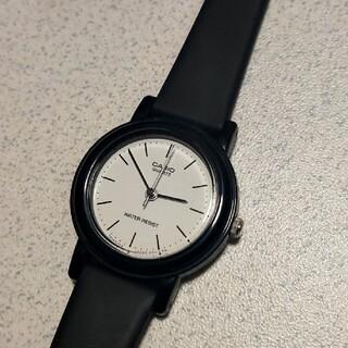CASIO 腕時計 【LQ-139】 STEEL BLACK