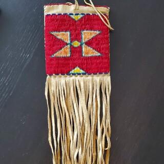 ゴローズ(goro's)のラコタ族 メディスンバッグ (アメリカで購入)(ショルダーバッグ)