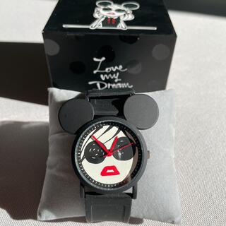 ディズニー(Disney)の三浦大知 ディズニー コラボ 美品 送料込み(腕時計)