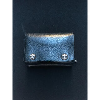 クロムハーツ(Chrome Hearts)のクロムハーツ ChromeHearts 3FOLD 三つ折り 財布 ウォレット(折り財布)