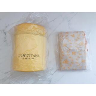 ロクシタン(L'OCCITANE)のロクシタン スープジャー&プロヴァンス柄ケース(弁当用品)