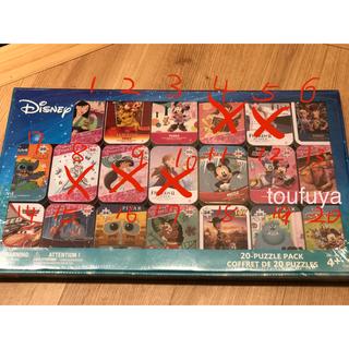 ディズニー(Disney)のディズニー キャラクターパズル缶 5個一組でバラ売り(その他)