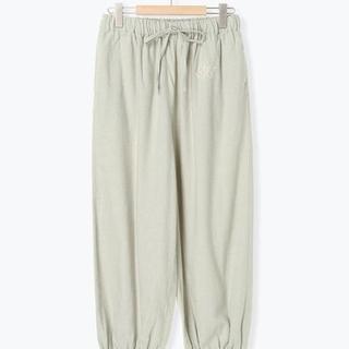 サマンサモスモス(SM2)の新品 [ホームウェア]綿起毛sh刺繍パンツ(ルームウェア)