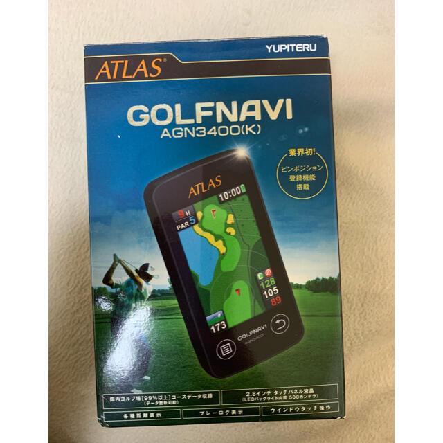 Yupiteru(ユピテル)のYUPITERU AGN3400(K) スポーツ/アウトドアのゴルフ(その他)の商品写真