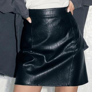 アナップ(ANAP)のANAP フェイクレザースカート(ミニスカート)