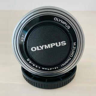 オリンパス(OLYMPUS)のOLYMPUS 14-42mm 望遠レンズ(レンズ(ズーム))