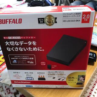 バッファロー(Buffalo)のBUFFALO外付けハードディスクHD-LD2.0-BKA(DVDレコーダー)