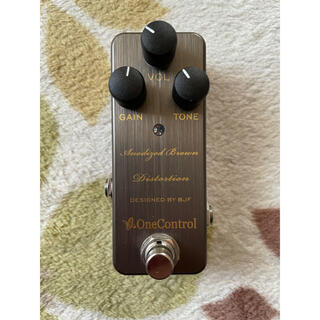 One Control Anodized Brown Distortion(エフェクター)