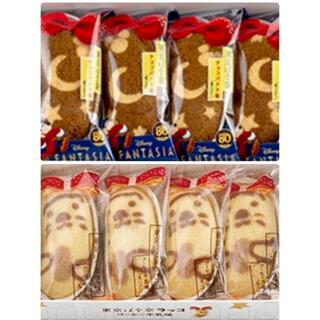 ディズニー(Disney)の‼️専用‼️ディズニーファンタジア チョコバナナ 東京ばな奈ラッコ コーヒー牛乳(菓子/デザート)