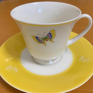ノリタケ(Noritake)のノリタケ ティーカップ&ソーサー(グラス/カップ)