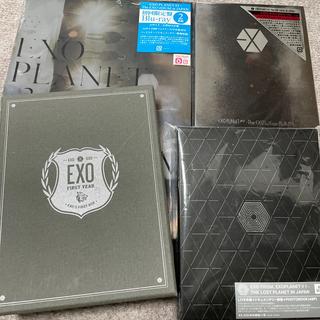 エクソ(EXO)のEXO ブルーレイ DVD フォトブック セット(ミュージック)