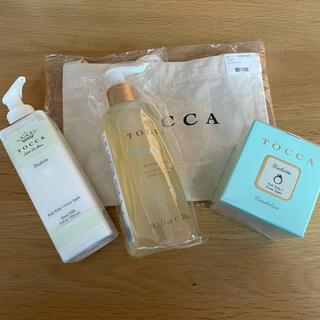 トッカ(TOCCA)のTOCCA tocca トッカ 4点セット ハンドウォッシュ・ミルク キャンドル(ハンドクリーム)