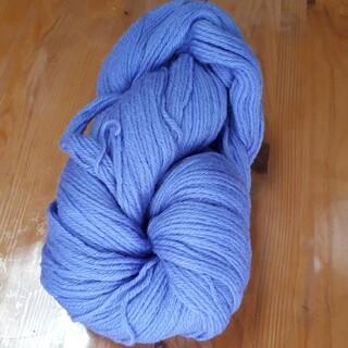 薄紫色毛糸 147g 並太 編み物 毛糸 ハンドメイド 手芸  糸(生地/糸)