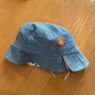 ホットビスケッツ(HOT BISCUITS)のミキハウス・ホットビスケットリバーシブル帽子(帽子)