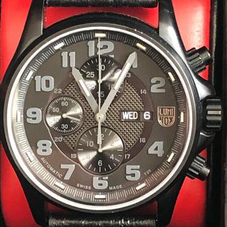 ルミノックス(Luminox)の定価35万 ルミノックス  フィールドバルジュークロノグラフ 1861BO自動巻(腕時計(アナログ))