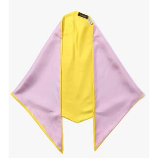 トゥモローランド(TOMORROWLAND)の【タグ付き新品未使用】manipuri シルク2トーンカラースカーフ(バンダナ/スカーフ)