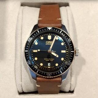 オリス(ORIS)の【OH済】オリス ダイバーズ65 ブロンズ(腕時計(アナログ))
