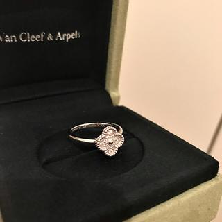 ヴァンクリーフアンドアーペル(Van Cleef & Arpels)のヴァンクリーフアーペル スウィートアルハンブラ(リング(指輪))