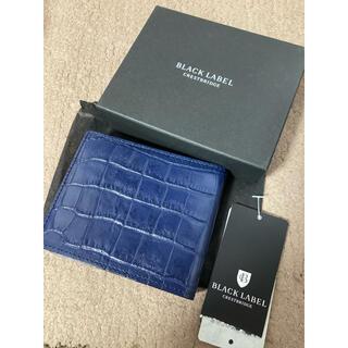 ブラックレーベルクレストブリッジ(BLACK LABEL CRESTBRIDGE)のブラックレーベル 財布(折り財布)