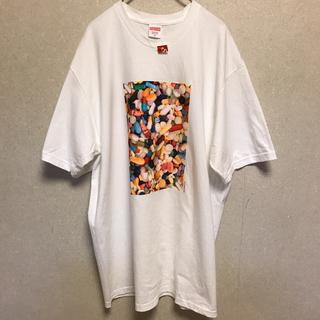 シュプリーム(Supreme)のSupreme シュプリーム Pills Tee ピルズ Tシャツ XL 白(Tシャツ/カットソー(半袖/袖なし))
