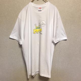 シュプリーム(Supreme)のSupreme Flog Tee シュプリーム フロッグ Tシャツ XL 白(Tシャツ/カットソー(半袖/袖なし))