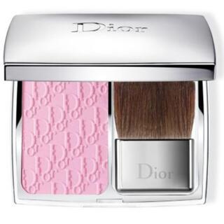 クリスチャンディオール(Christian Dior)の廃盤レア品◎ディオール スキン ロージーグロウ 001 ペタル(チーク)
