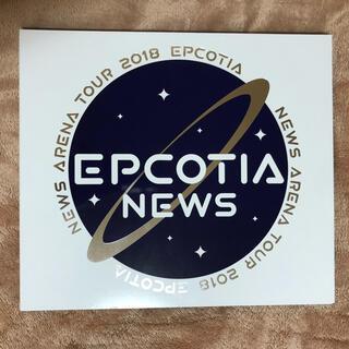 ニュース(NEWS)のNEWS EPCOTIA 初回盤 Blu-ray ※3月まで(アイドル)