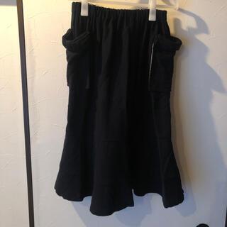 コムデギャルソン(COMME des GARCONS)のtricot comme des garçons リボンポケットスカート  (ひざ丈スカート)