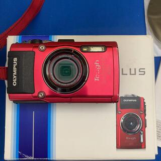 オリンパス(OLYMPUS)のOLYMPUS オリンパス TG TG-4 RED(コンパクトデジタルカメラ)