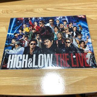 エグザイル トライブ(EXILE TRIBE)のHiGH&LOW ウォーターシール 三代目 EXILE 非売品(ミュージック)