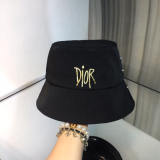 Dior - Dior ロゴ コットン ハット 美品