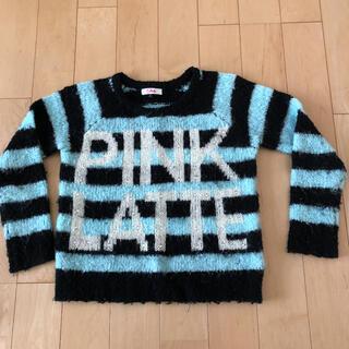ピンクラテ(PINK-latte)のピンクラテ セーター Sサイズ(ニット)
