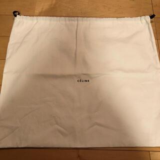 セリーヌ(celine)のセリーヌ 保存袋(バッグ) 巾着型 白/ホワイト 巾着袋 布製 布袋(バッグ)