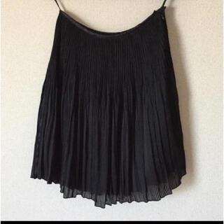アクアガール(aquagirl)の美品 プリーツスカート アクアガール(ひざ丈スカート)