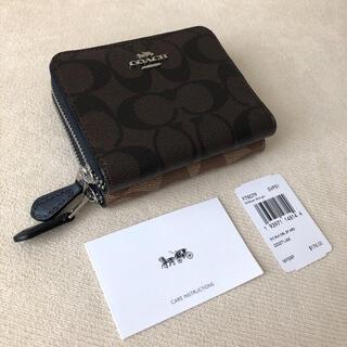 コーチ(COACH)のタグ付き新品★COACH スモール ダブルジップ&ダブルカラー二つ折り財布(財布)