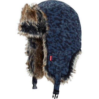 シュプリーム(Supreme)のSupreme 14AW liberty leopard trooper hat(その他)