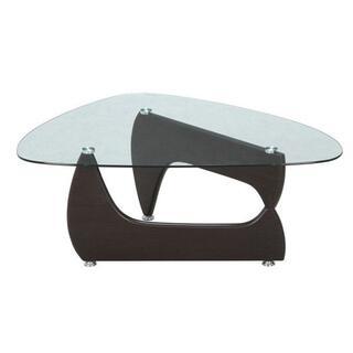 イサムノグチ リプロダクト ガラスセンターテーブル ブラック(ローテーブル)