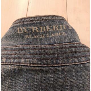 BURBERRY BLACK LABEL - バーバリーブラックレーベル デニムジャケット⭐︎Gジャン
