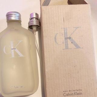 シーケーカルバンクライン(ck Calvin Klein)のカルバンクライン カルヴァンクライン CK 香水(ユニセックス)
