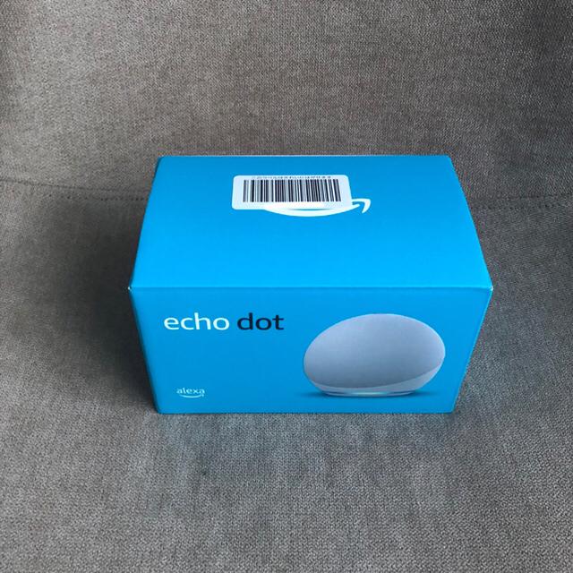 ECHO(エコー)のamazon Echo Dot 第4世代  スマホ/家電/カメラのオーディオ機器(スピーカー)の商品写真
