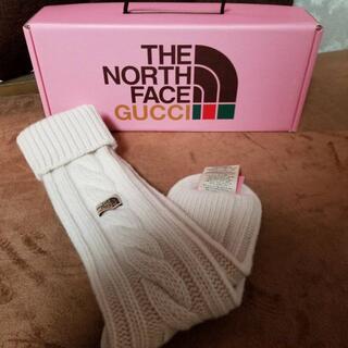 グッチ(Gucci)のGUCCI × THE NORTH FACE  リブ編み靴下 ソックス(ソックス)