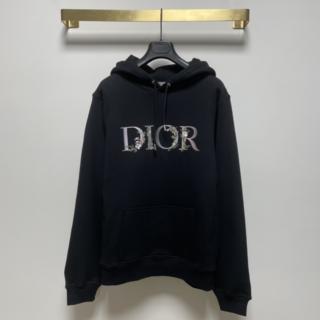 Dior - ディオール【DIOR】FLOWERS オーバーサイズフード付きスウェット